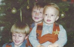 Devon, Damon, and cousin Dillon